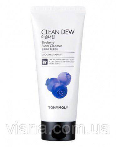 Пенка с экстрактом черники TONY MOLY Clean Dew Blueberry Foam Cleanser 180 мл