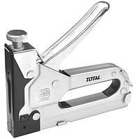 Строительный степлер TOTAL THT31141 для скоб 4-14 мм.