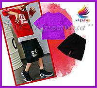 Шорты футболки детские летние оптом (под заказ от 50 шт) с НДС