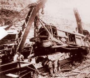 Экскаватор конец 19-начало 20 века