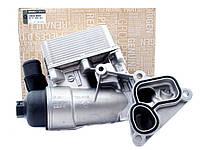 Корпус масляного фильтра с маслоохладителем на Рено Мастер 3 2.3 dCI M9T Renault 8201005241 (оригинал)