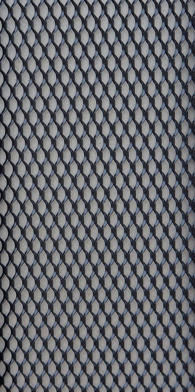 Защитно декоративная сетка для бампера и радиатора Sahler №3, 100*40 см черная без упаковки