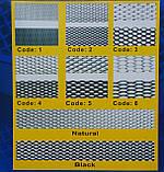 Защитно декоративная сетка для бампера и радиатора Sahler №3, 100*40 см черная без упаковки, фото 3