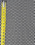 Защитно декоративная сетка для бампера и радиатора Sahler №2, 100*40 см черная без упаковки, фото 2