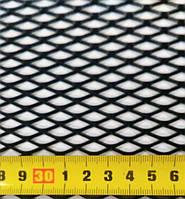 Сетка бампера  Elegant  №4 1м х20 см  черная EL 511024/1