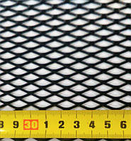 Сетка бампера Elegant №4 1м х30 см  черная EL 511034/1