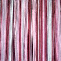 """Примеры, как в оформлении смотрятся шторы нити """"Радуга Вертикальная"""""""