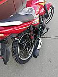 Мотоцикл Musstang Region MT150 red (Мусстанг Регион МТ150 красный), фото 7