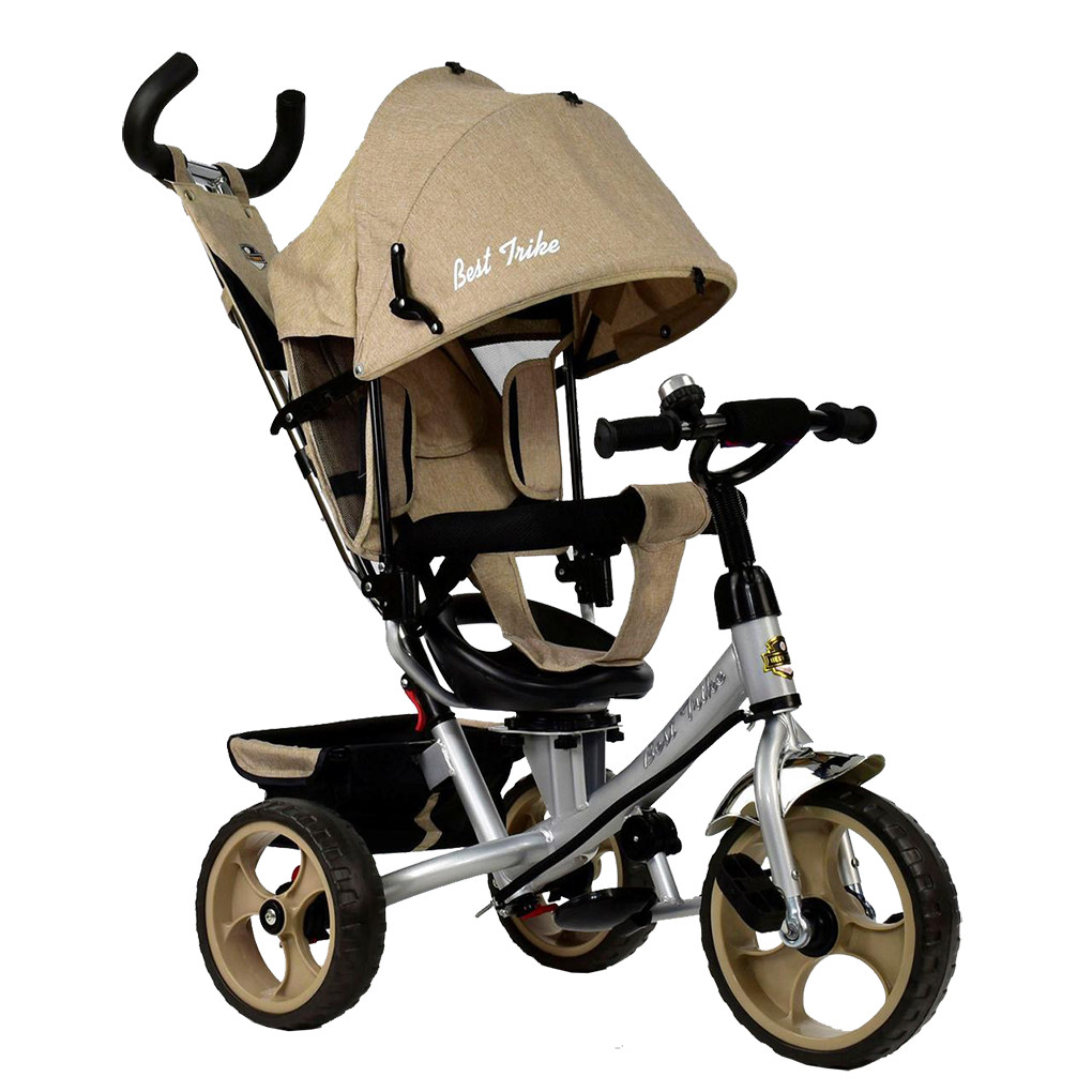 Bелосипед трехколесный Best Trike 5700-3540 Бежевый 65341