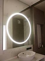 Круглое зеркало с LED подсветкой