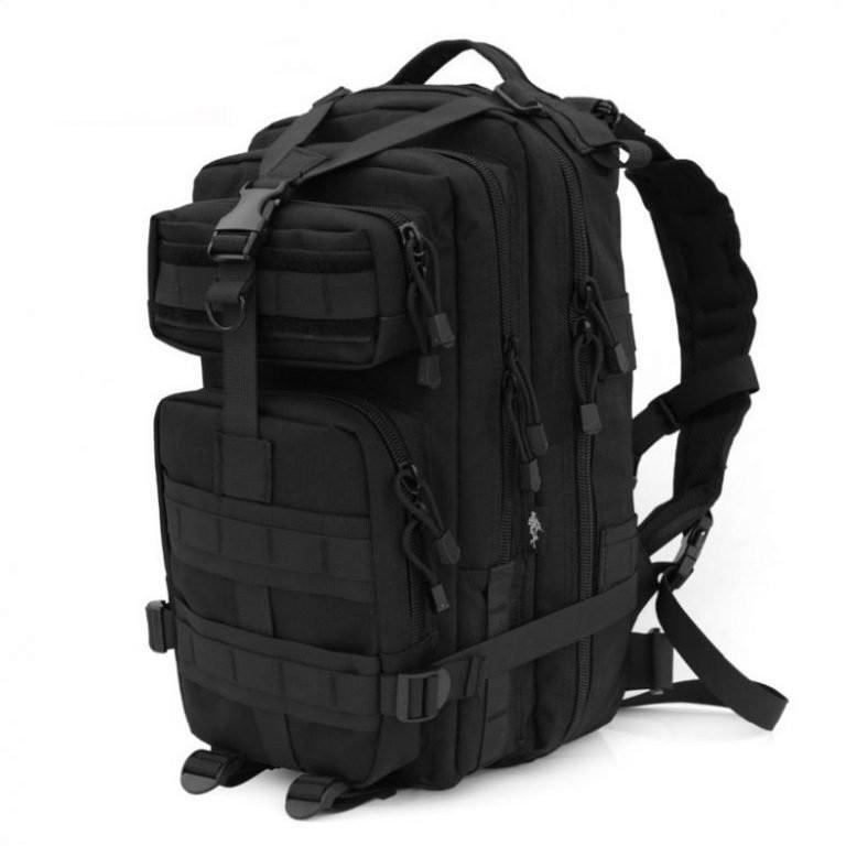 Тактический рюкзак Черного цвета на 25 литров