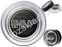 """Крем-тени для век гелевые Maybelline New York """"Color Tattoo 24ч"""" тон 60 (черный вне времени) 4,5г"""