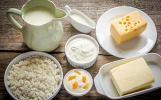 Молочные продукты - источник кальция и витамина D