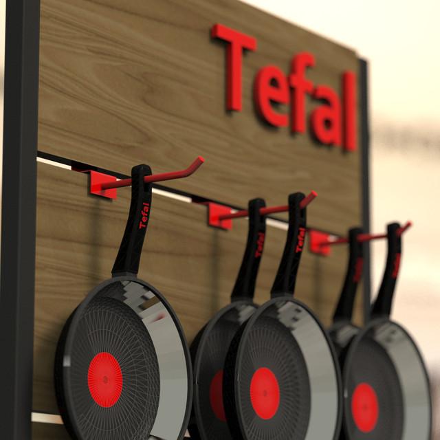 Стенд торговый Tefal