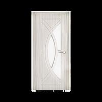 Межкомнатная дверь Неман Фантазия остеклённая 700 мм белая береза