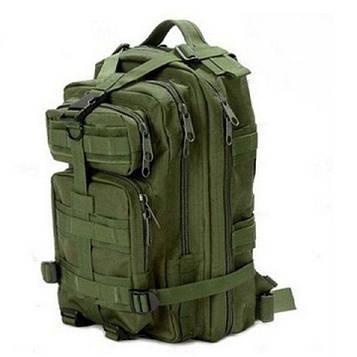 Тактический рюкзак цвета Хаки на 25 литров