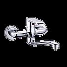 Настенный смеситель для умывальника и кухонной мойки Invena SIROS BC-90-001-A