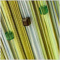 Примеры оформления со шторами нитями Радуга со Стеклярусом