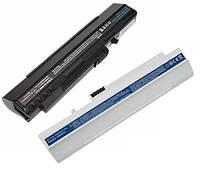 Батарея для ноутбука Acer Aspire One A110, A150, D150, D250 (UM08A31) 11.1v 2200mAh черная бу ИЗНОС 51%