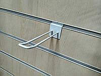 Крючки двойные 150мм белые б/у для экономпанелей