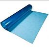 Прозрачный шифер в рулоне Волнопласт плоский, голубой 2,0х20м