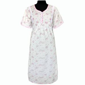 Ночная рубашка с набивного кулира. Оптом и в розницу , фото 2