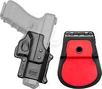 Кобура Fobus для Glock 17/19 с поясным фиксатором