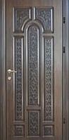 Дверь входная Статус серия Элит модель П4 патина