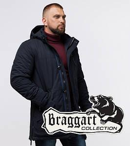 Braggart Status 45777 | Мужская зимняя куртка темно-синяя