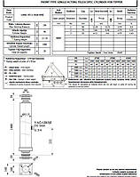 Гидроцилиндр подъема кузова B DWR 3/750/145 - D=168