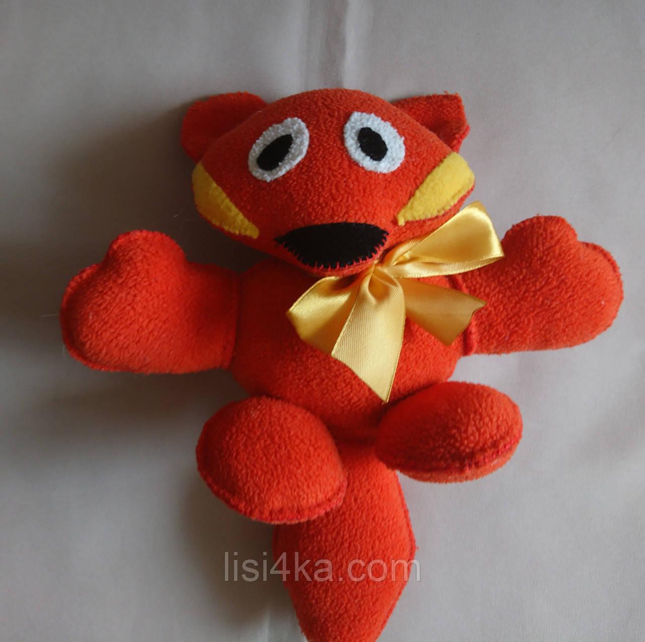 """Текстильная интерьерная игрушка """"Веселая лиса"""""""
