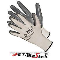 Перчатки RnitG защитные, изготовленные из полиэстера, покрытые нитрилом. ARTMAS POLAND
