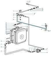 Комплект гидрофикации тягача-самосвала (бак 170л. на раму, насос 90 куб см реверс.) LIWA HYDRAULICS