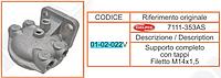 кронштейн топливного фильтра M14x1,5