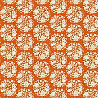 Отрез ткани Tilda Flower Nest Ginger 50х55см, 481307