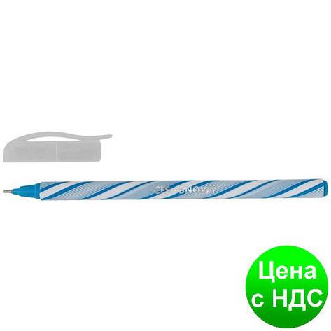 Ручка шариковая Snowy, цвет чернил: синий , 0,6 мм, ассорти CF11964, фото 2