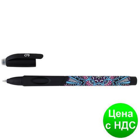 """Ручка гелевая """"пиши-стирай"""" Ethno Style, чернила чорные CF11969-01, фото 2"""