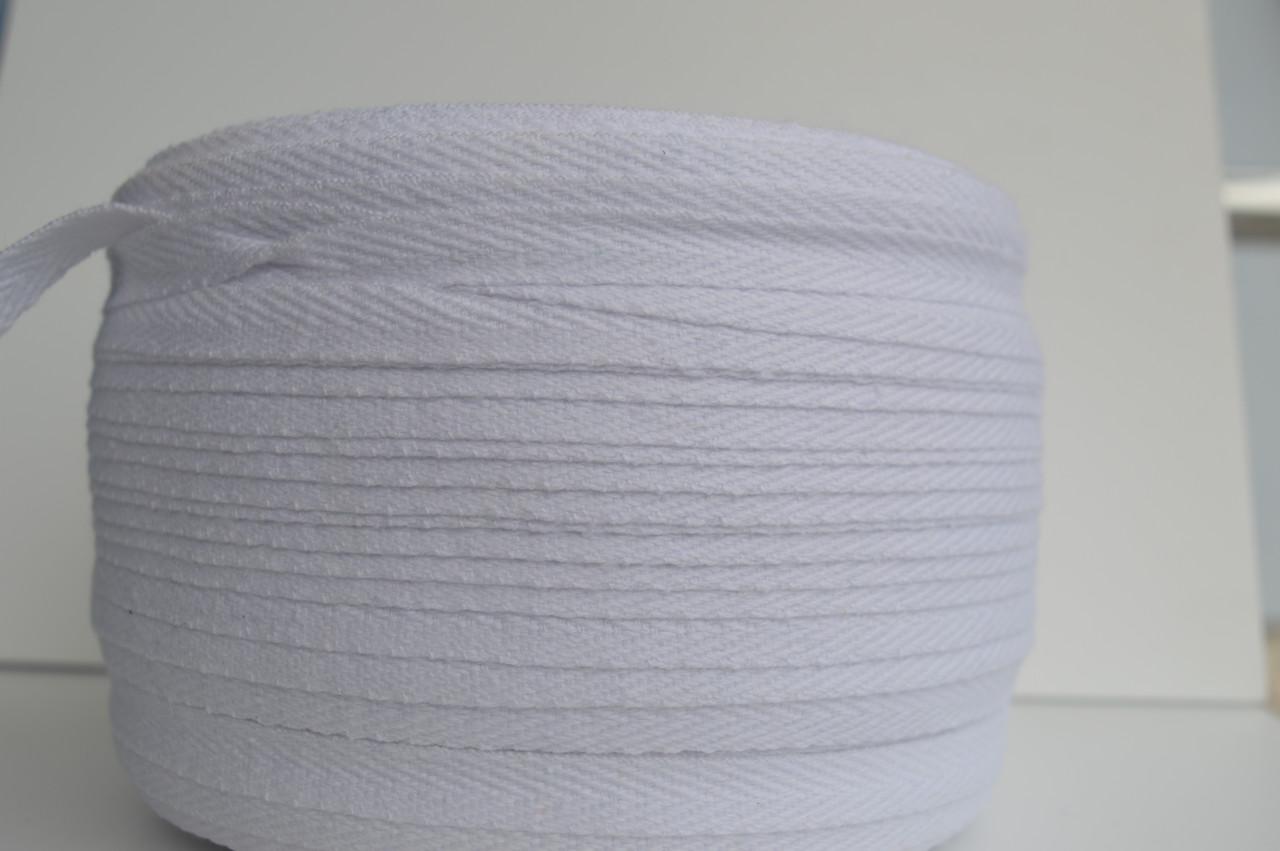 Цветная киперная тесьма 100%хб 1 см