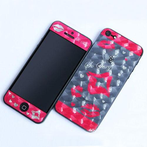 Захисна плівка для Apple iPhone 5 5G Сексуальні губи