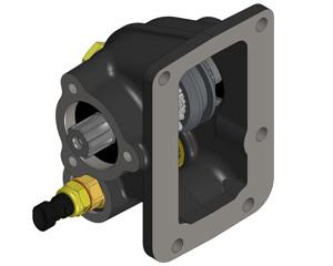 Коробка отбора мощности HYUNDAI КПП M025-S5 OMFB Италия пневмо управление 021208051