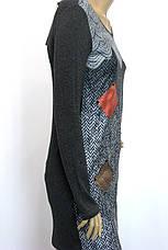 жіноча туніка плаття з геометричним принтом, фото 3
