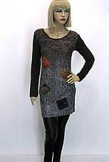 жіноча туніка плаття з геометричним принтом, фото 2