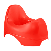 Горшок детский Бамбино красный
