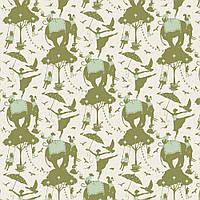 Ткань для рукоделия Tilda Circus Life Green, 481322