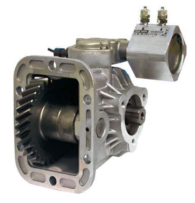 Коробка отбора мощности IVECO КПП iveco 6S-300; ZF S6-300 OMFB Италия вакуумное управление 021214010