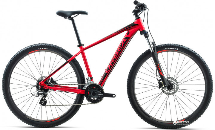 Копия Велосипед Orbea MX 27 30 2018 M  Red-Black