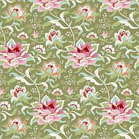Ткань для рукоделия Tilda Circus Rose Green, 481330