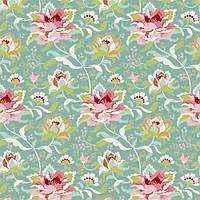 Ткань для рукоделия Tilda Circus Rose Teal, 481327