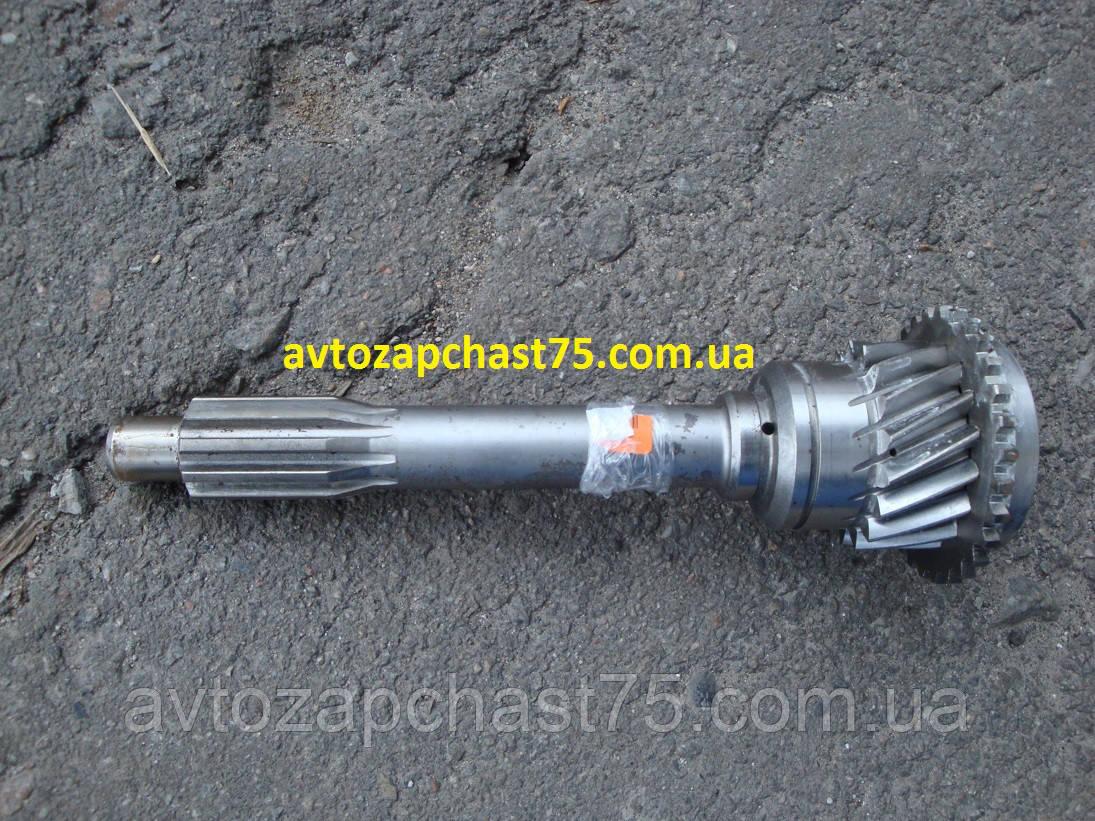 Вал первичный Газ 3309, Газ 3308 дизель коробки передач (производство ГАЗ)