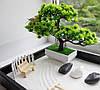 Японский сад камней Сад Дзен с Бонсаи, 27х40 см, классический, фото 3